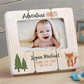 Woodland Adventure Fox Personalized Shiplap Frame - 20880-F