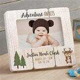 Woodland Adventure Deer Personalized Shiplap Frame - 20880-D