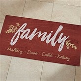 Cozy Home Personalized Oversized Kitchen Mat- 24x48 - 20890-O