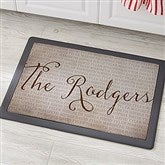 Together Forever Personalized Kitchen Mat- 18x27 - 20893