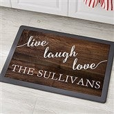 Live, Laugh, Love Personalized Kitchen Mat - 18x27 - 20894
