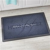 The Heart Of Our Home Personalized Kitchen Mat 20x35 - 20896-M