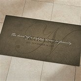 The Heart Of Our Home Personalized Oversized Kitchen Mat- 24x48 - 20896-O