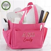 Alpha Chi Omega Embroidered Shower Caddy - 20993