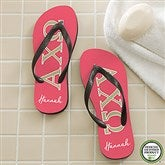 Alpha Chi Omega Personalized Adult Flip Flops - 20997