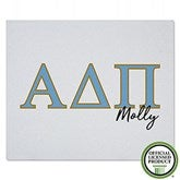 Alpha Delta Pi Personalized Greek Letter Sweatshirt Blanket - 21023-SW
