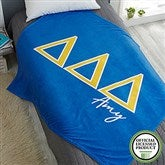 Delta Delta Delta Personalized Greek Letter 60x80 Fleece Blanket - 21026-FL