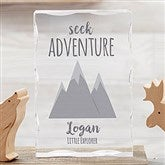 Woodland Adventure Mountain Personalized Colored Keepsake - 21028-M