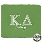 Kappa Delta Personalized Greek Letter 60x80 Sherpa Blanket - 21032-SL
