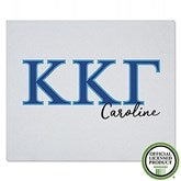 Kappa Kappa Gamma Personalized Greek Letter Sweatshirt Blanket - 21033-SW