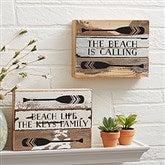 Coastal Life Reclaimed Wood Sign - 8x6 - 21037-8x6