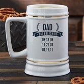 Date Established Personalized Beer Stein - 21038
