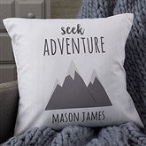 Woodland Adventure Mountains Personalized 18