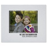 Photo Collage Personalized 50x60 Sweatshirt Blanket For Him - 21050-SW