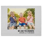 Photo Collage Personalized 60x80 Fleece Blanket For Him - 21050-FL