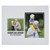 Two Photo Collage Personalized 50x60 Sweatshirt Blanket For Him - 21051-SW