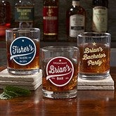 Brewing Co. Personalized Printed Whiskey Glass - 21154