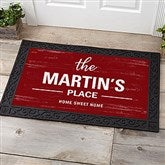 Farmhouse Family Welcome Personalized Doormat- 20x35 - 21167-M