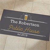 Public House Personalized Oversized Doormat- 24x48 - 21169-O