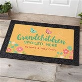 Grandchildren Spoiled Here Personalized Doormat- 20x35 - 21170-M