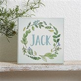 Woodland Baby Personalized Shelf Block - 21182
