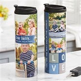 Dear... Personalized 16oz. Photo Travel Tumbler - 21272
