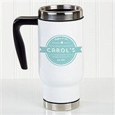Coffee House Personalized Commuter Travel Mug - 21293