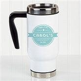 Coffee House Personalized Commuter Travel Mug - 21293