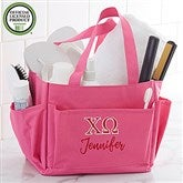 Chi Omega Embroidered Shower Caddy - 21350