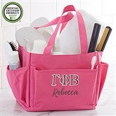 Gamma Phi Beta Embroidered Shower Caddy - 21354