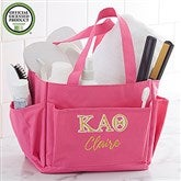 Kappa Alpha Theta Embroidered Shower Caddy - 21355