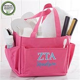 Zeta Tau Alpha Embroidered Shower Caddy - 21359