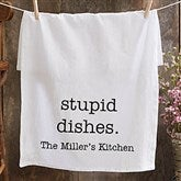 Kitchen Expressions Personalized Flour Sack Towel - 21364