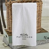 Infinite Love Personalized Tea Towel - 21365
