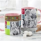 Photo Fun Personalized Coffee Mug 11 oz.- Pink - 21372-P