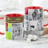 Photo Fun Personalized Coffee Mug- 11 oz.- Red - 21372-R