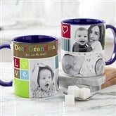 Photo Fun Personalized Coffee Mug 11 oz.- Blue - 21372-BL