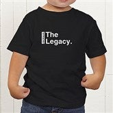 The Legend Continues Personalized Toddler T-Shirt - 21381-TT