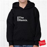 The Legend Continues Personalized Youth Hooded Sweatshirt - 21381YS