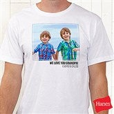 Photo Personalized Hanes® T-Shirt - 21382-T