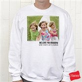 Photo Personalized Crewneck Sweatshirt - 21382-S