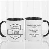 My Greatest Blessings Call Me Coffee Mug For Him 11 oz.- Black - 21386-B