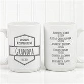 My Greatest Blessings Call Me Coffee Mug For Him 15 oz.- White - 21386-L