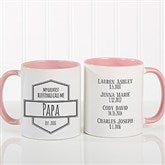 My Greatest Blessings Call Me Coffee Mug For Him 11 oz.- Pink - 21386-P