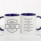 My Greatest Blessings Call Me Coffee Mug For Him 11 oz.- Blue - 21386-BL