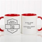 My Greatest Blessings Call Me Coffee Mug For Him 11 oz.- Red - 21386-R