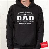 My Favorite People Call Me... Personalized Adult Hooded Sweatshirt - 21396-BS