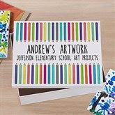 Vibrant Hues Personalized Art Box - 21417