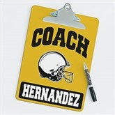 Football Personalized Coach Clipboard - 21418