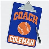Baseball Personalized Coach Clipboard - 21419